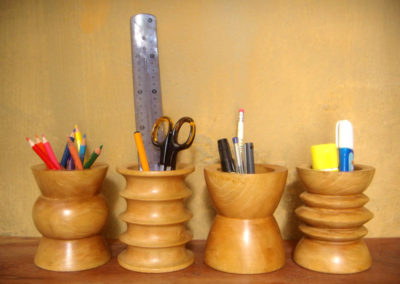 African-headrests-as-pencil-or-utensil--holders