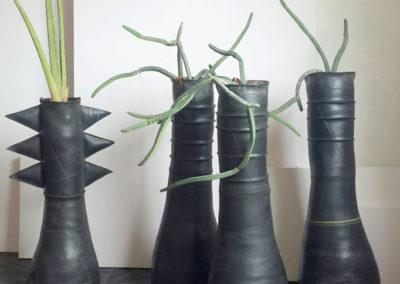 rubber-pots